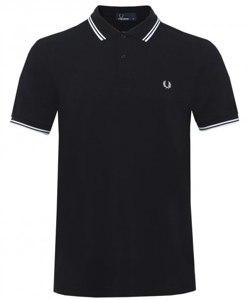 Fred Perry Slim Fit Twin Tipped Polo Shirt