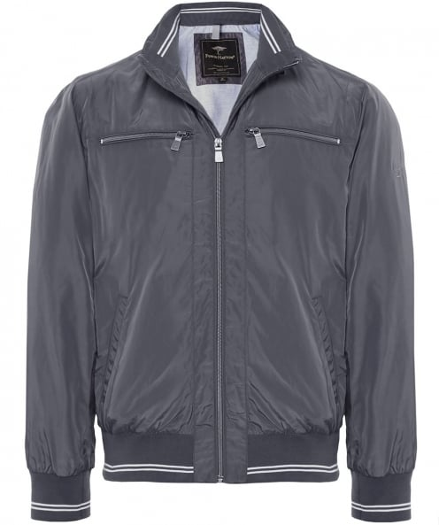 Fynch-Hatton Casual Fit Zip-Through Bomber Jacket
