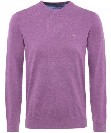 Crew Neck Superfine Cotton Jumper