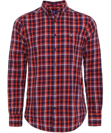 Regular Fit Nordic Plaid Shirt
