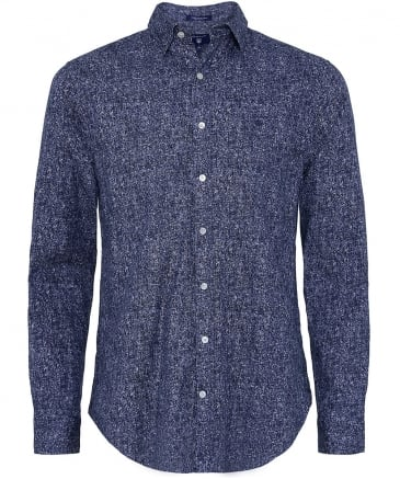 Regular Fit Tweed Print Shirt
