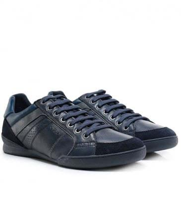Nappa Leather & Suede Kristof Trainers