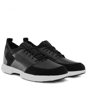 Nappa Leather & Suede Traccia Trainers
