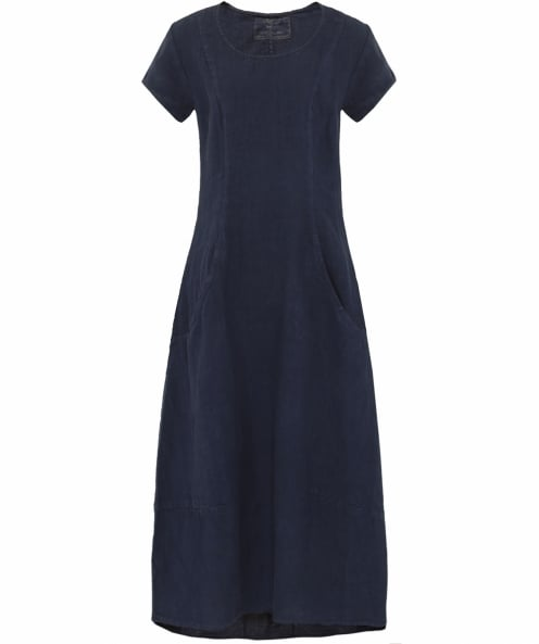 Grizas Linen Pocket Shift Dress