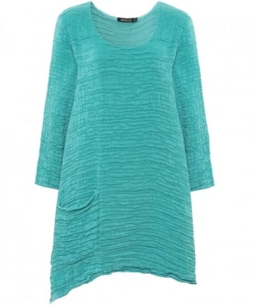 Silk Textured Drape Top