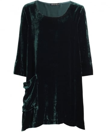 Velvet Pocket Tunic