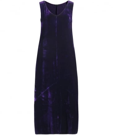 Velvet Sleeveless Dress