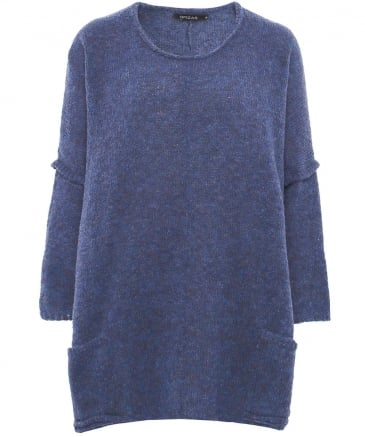 Wool Dropped Shoulder Jumper