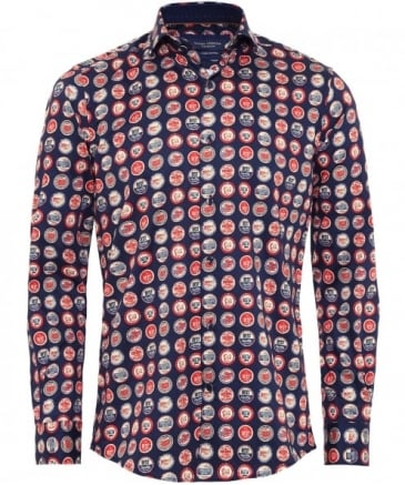 Bottle Top Print Shirt