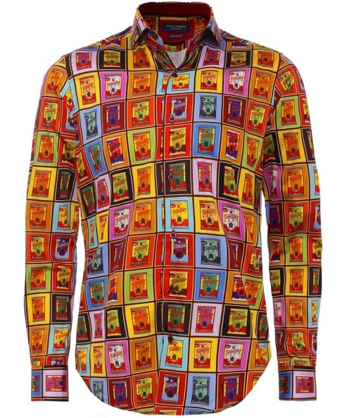Guide London Pop Art Sateen Shirt