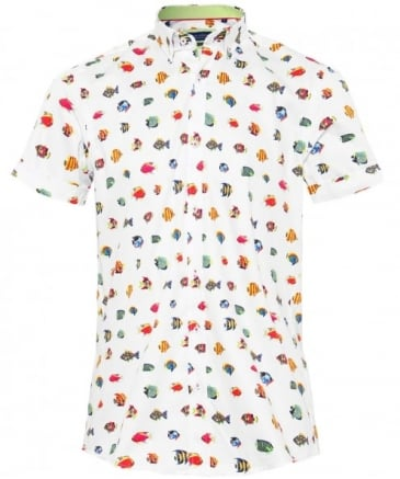 Short Sleeve Exotic Fish Shirt