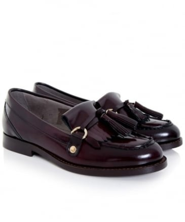 Britta High Shine Loafers
