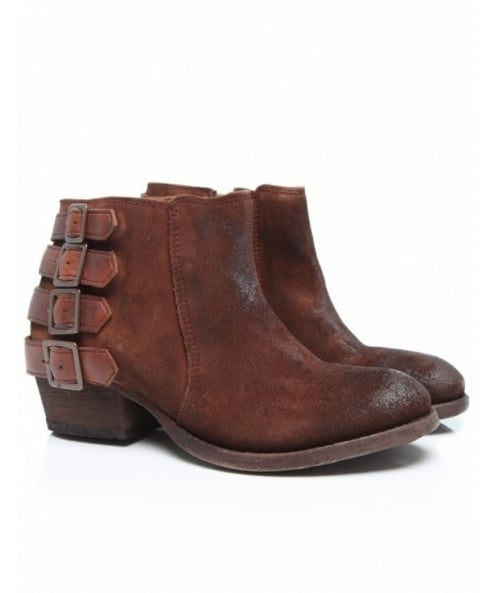 H by Hudson Suede Encke Boots