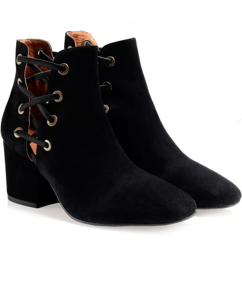 H by Hudson Suede Kris Ankle Boots