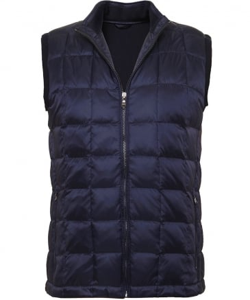 Knitted Reverse Down Gilet