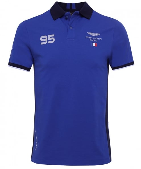 Hackett Slim Fit AMR France Polo Shirt