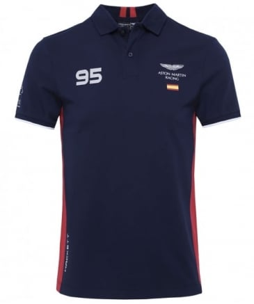 Slim Fit AMR Spain Polo Shirt