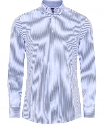 Slim Fit Bengal Striped Shirt