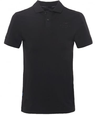 Slim Fit Paneled Seams AMR Polo Shirt