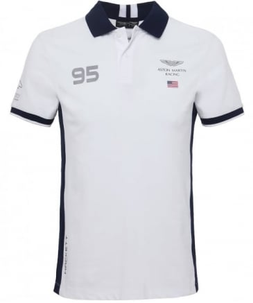 Slim Fit USA AMR Polo Shirt