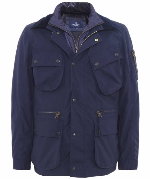 Hackett Wax Cadwell Jacket