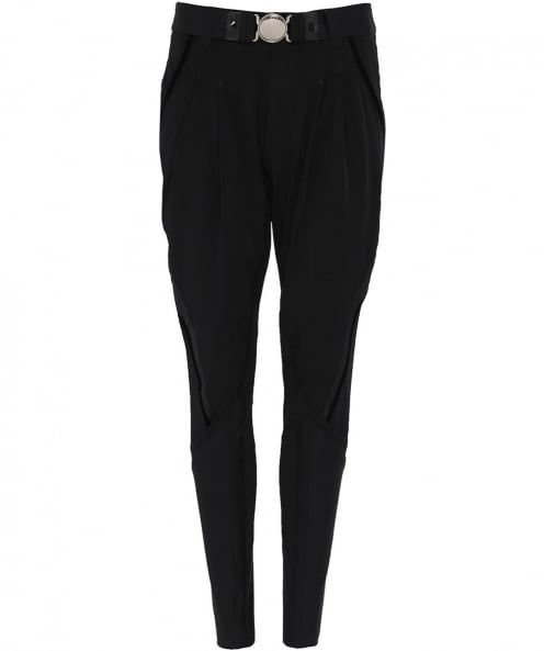 High Skive Tapered Tuxedo Trousers