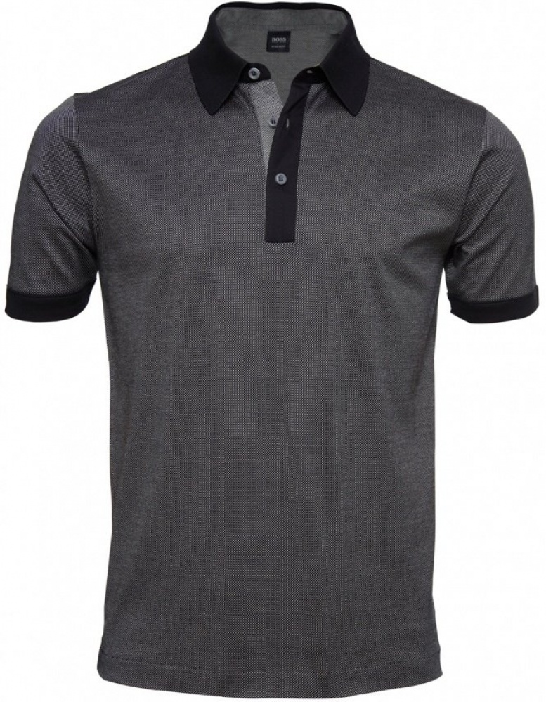 Hugo boss black men 39 s regular fit genova polo shirt jules b for Boss t shirt sale