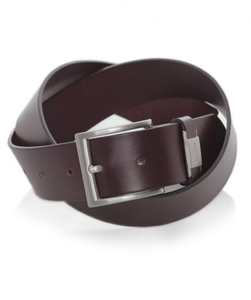 HUGO Leather C-Connio Belt