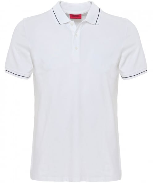 HUGO Tipped Daymont Polo Shirt