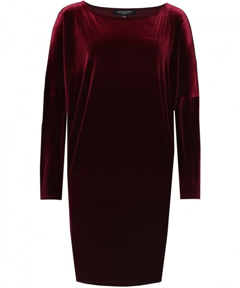 Ilse Jacobsen Velvet Tunic Dress