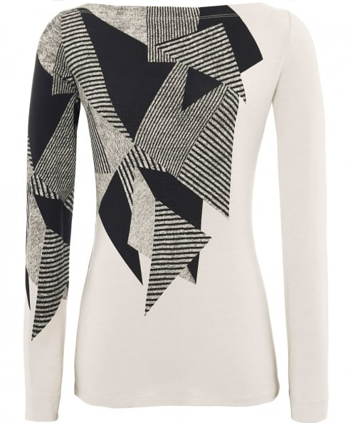 Isabel de Pedro Abstract Print Long Sleeve Top