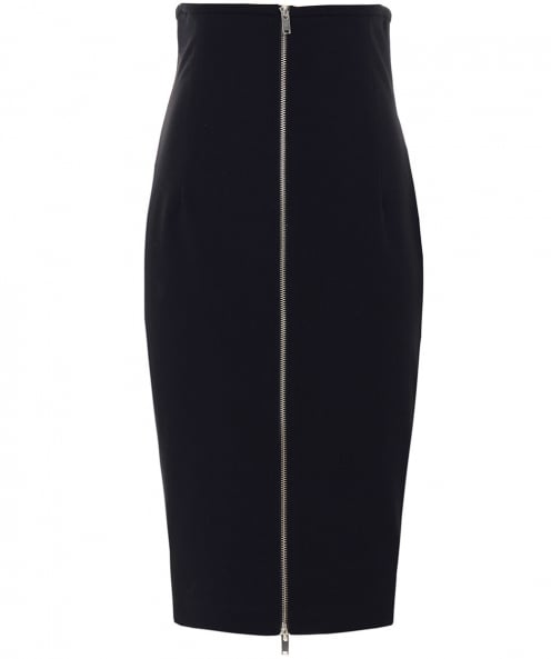 Isabel de Pedro Zip Through Pencil Skirt