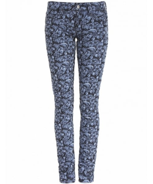 Isabel Marant Etoile Floral Embroidered Jeans