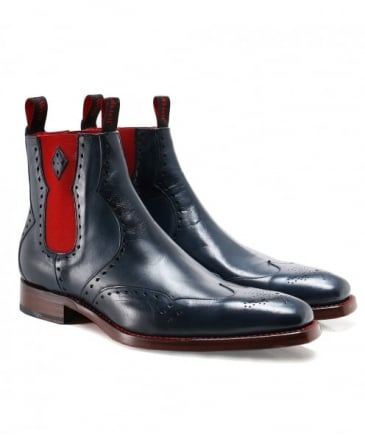 Leather Novikov Dexter Chelsea Boots