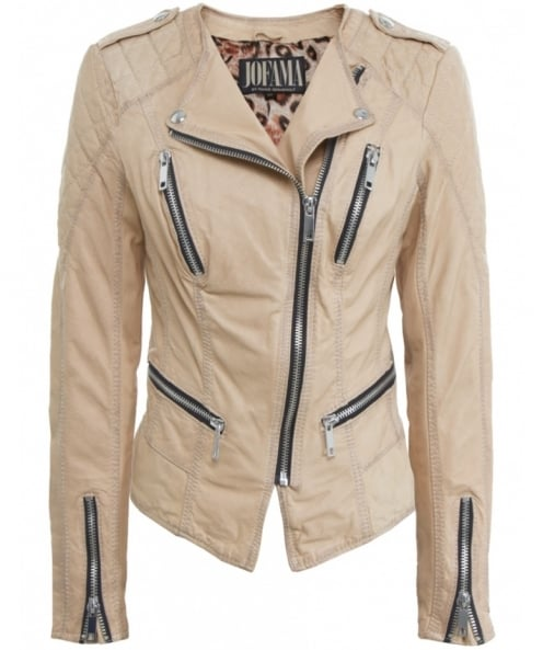 Jofama Marie Paris Leather Jacket