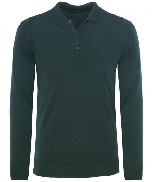 John Smedley Slim Fit Merino Wool Tyburn Polo Shirt