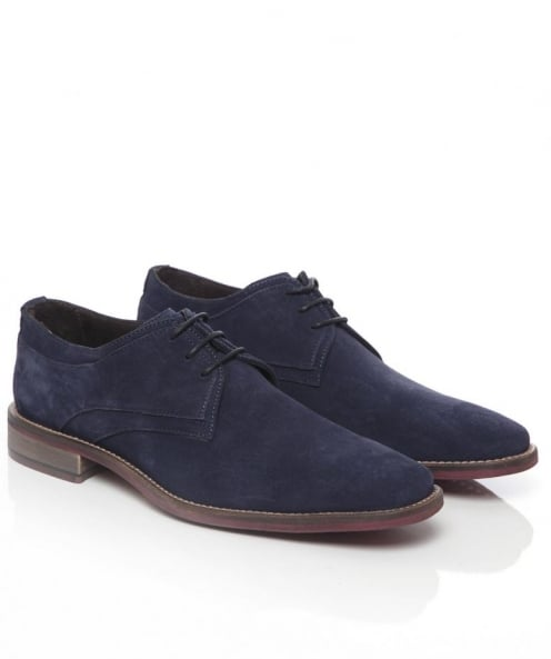 Suede Derby Shoes