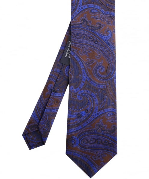 Jules B Faded Paisley Tie