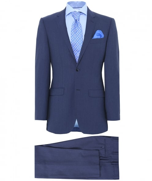 Jules B Oxford Wool Suit