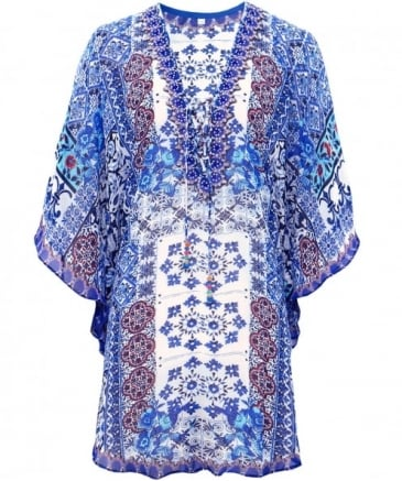 V-Neck Persian Kaftan