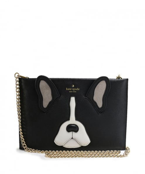 Kate Spade New York Leather Antoine Frenchie Sima Clutch Bag