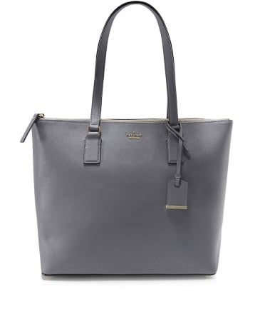 Leather Lucie Classic Tote Bag