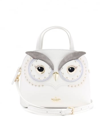Leather Star Bright Owl Lottie Bag