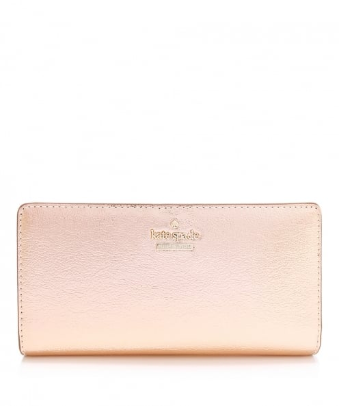 Kate Spade New York Metallic Stacy Popper Purse