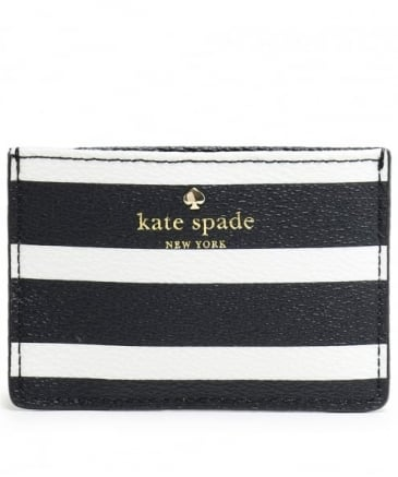 Striped Card Holder