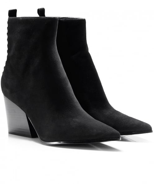 Kendall and Kylie Felix Chunky Heel Boots