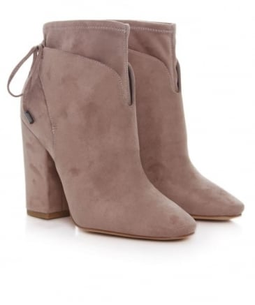 Zola Suede Effect Ankle Boots
