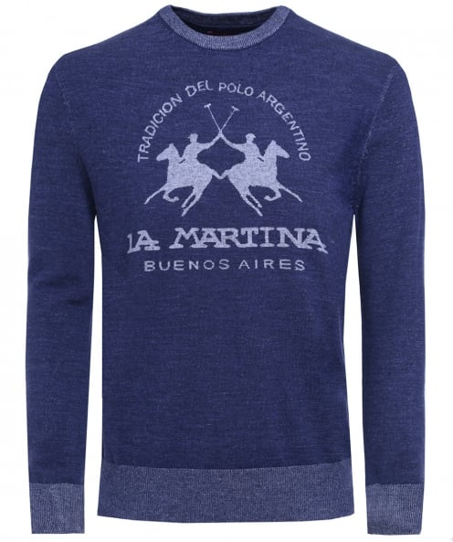 La Martina Crew Neck Buddy Jumper