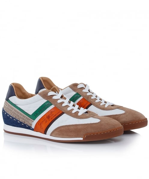 La Martina Leather Sud Trainers