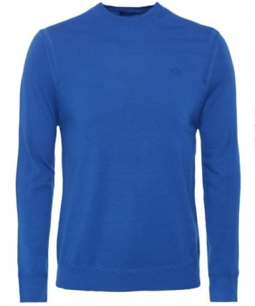 Wool Crew Neck Quin Jumper